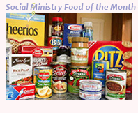Social Ministry Food of the Month